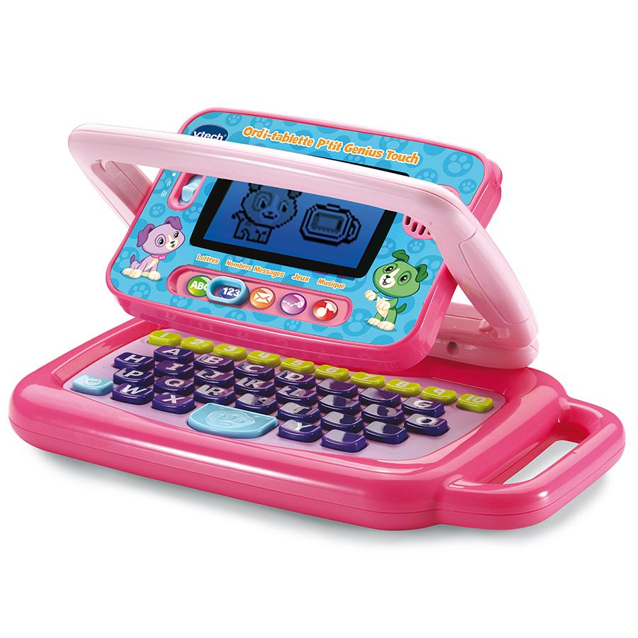 Ordinateur-Tablette P/'tit Genius Touch Mauve