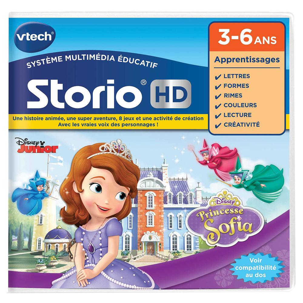 Jeu Storio Hd Princesse Sofia Jeu Tablette Vtech
