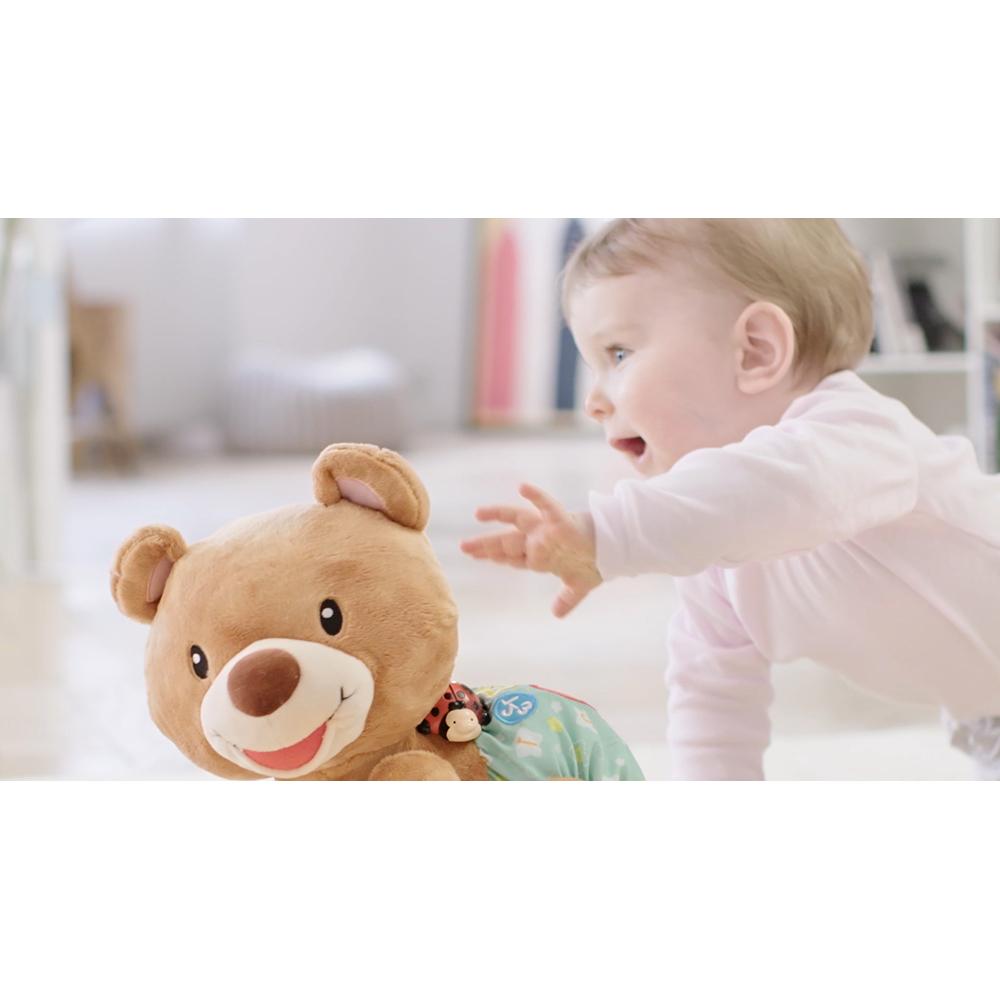 VTech Baby Krabbel mit mir Bär Kuschelbär Lernspielzeug Plüschtier Baby Kinder