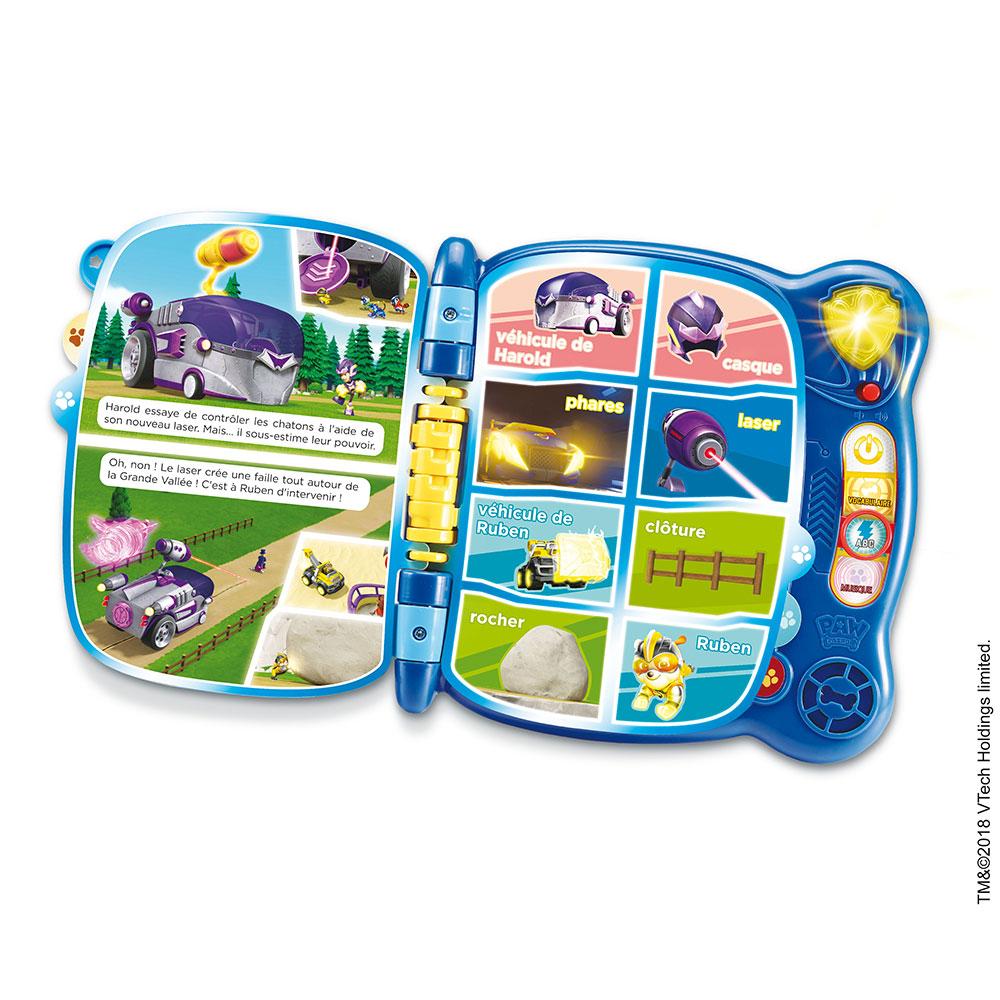 Exploration avec Le Livre /éducatif Paw Patrol MagiBook Multicolore VTech 80-480204 Niveau 2